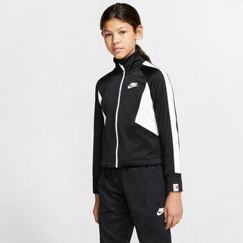 Nike Sudadera Sportswear Heritage Big K niña Negro