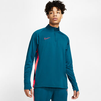 Nike Camiseta m/lNK DRY ACDMY DRIL TOP hombre Azul