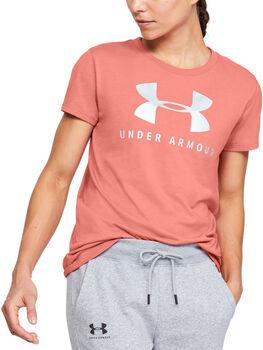 Under Armour Camiseta manga corta Graphic Sportstyle Classic mujer Naranja