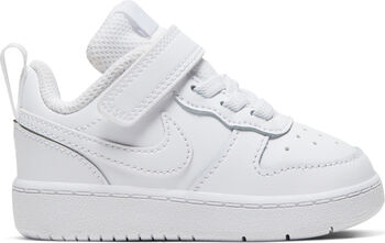 Nike Zapatilla COURT BOROUGH LOW 2 (TD) niño Blanco