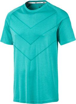 Puma Camiseta m/c Reactive evoKNIT Tee hombre Azul