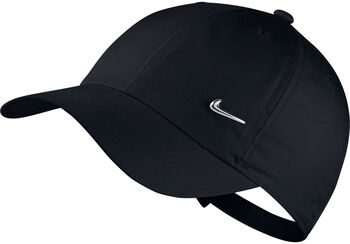 Nike Gorra Y NK H86 CAP METAL SWOOSH Negro