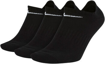Nike Calcetines Cortos Everyday (3 Pares) Negro