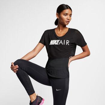 Nike  AIR TOP SS GX mujer Negro
