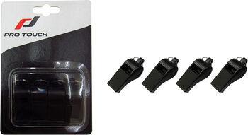 PRO TOUCH Pack de 4 Silbatos Whistle 100 Negro