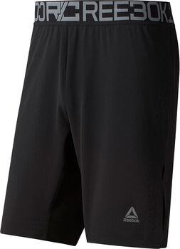 Reebok Pantalones cortos de boxeo tejidos Combat hombre