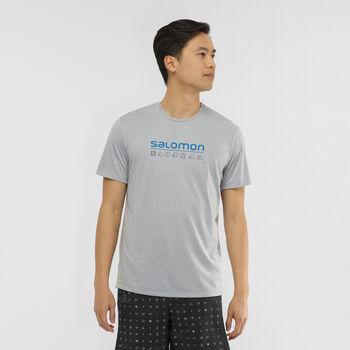 Salomon Camiseta Manga Corta Agile Graphic hombre