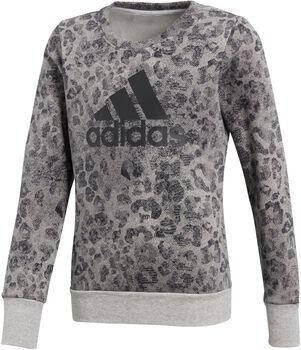 adidas Essentials Graphic Sweatshirt Niña Gris