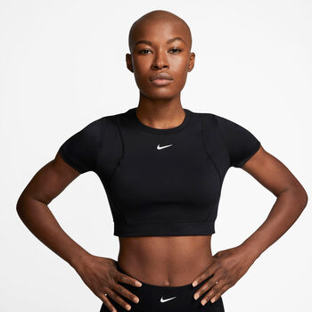 Nike Camiseta Pro Aeroadapt mujer Negro