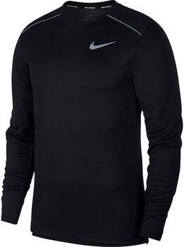 Nike DRY MILER TOP LS hombre Negro