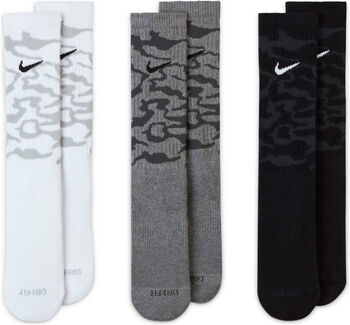 Nike Calcetines Largos Fitness Everyday Plus Cushioned (3 Pares) hombre