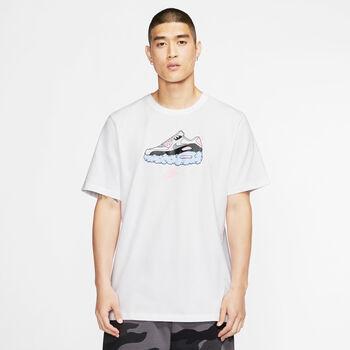 Nike Camiseta de manga corta Air AM90 hombre Blanco