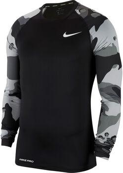 Nike Camiseta m/lNP TOP LS SLIM CAMO 1 hombre