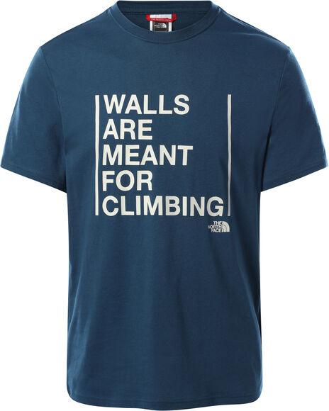 Camiseta Manga Corta Walls Climb