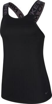 Nike Pro Camiseta de tirantes mujer Negro