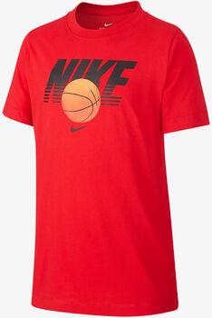 Nike Camiseta NSW TEE BASKETBALL niño Rojo