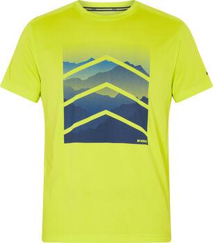 McKINLEY Camiseta Manga Corta Rakka ux hombre Amarillo
