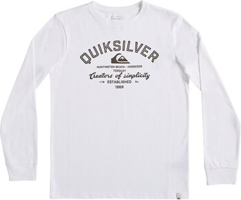 Quiksilver Camiseta de manga larga creator of simplicity niño