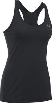 Under Armour HG Armour Racer Camiseta para mujer Negro