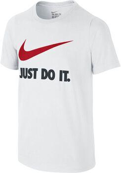 Nike JDI Swosh Tee YTH Niño Blanco