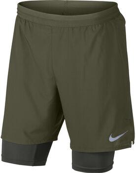 Nike Flex Distance Shor 7IN 2IN1 Hombre Verde