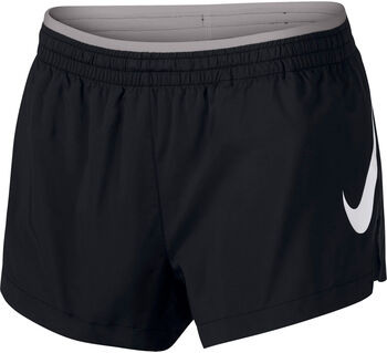 Nike Shorts Elevate Trck mujer Negro