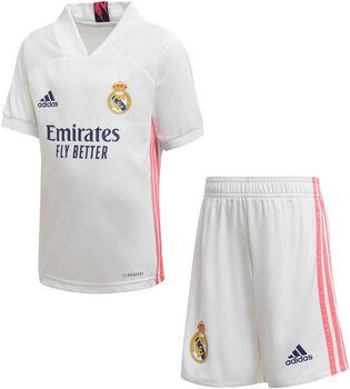 adidas Kit Primera Equipación Real Madrid 20/21 niño