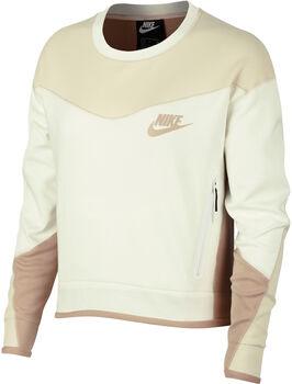 Nike Nsw TCH FLC CREW CB mujer