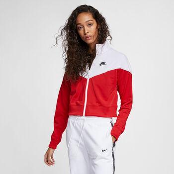 Nike Nsw HRTG TRACK JKT PK mujer Rojo