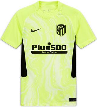 Nike Camiseta tercera equipación Stadium Atlético de Madrid 2020/2021 Junior niño Amarillo