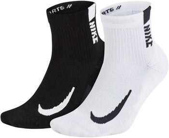 Nike Mltplier Ankle - 2PR hombre Beige
