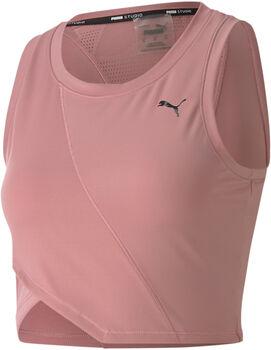 Puma camiseta de tirantes Studio Crop Lace mujer