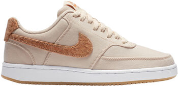 Nike Zapatillas Court Vision Low mujer Beige