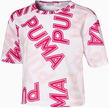 Puma Camiseta Manga Corta Modern Sports AOP Tee G niña