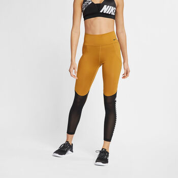 Nike All-In Women's 7/8 Graphic Training Tights  mujer Amarillo