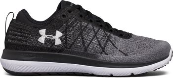 Under Armour Zapatillas de running UA Threadborne Fortis 3 para mujer Negro