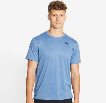 Nike Camiseta Manga Corta Pro hombre Azul