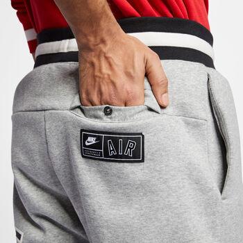 Nike Pantalón Air Fleece hombre Gris