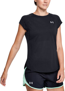 Under Armour Camiseta de manga corta UA Streaker 2.0 Shift para mujer