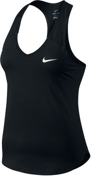 Nike Top PURE TANK mujer Negro