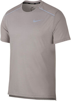 Nike Camiseta m/cNK BRTHE RISE 365 SS hombre Gris