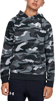 Under Armour Sudadera Rival Printed Hoody-BLK niño