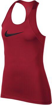 Nike Pro Tank All Over Mesh Mujer Rojo