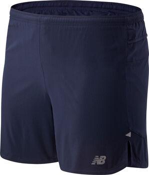 New Balance Pantalón Corto Impact Run 5In hombre Azul