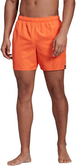 Solid Swim Shorts Hombre