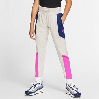 Nike Pantalón Sportswear Heritage Big K Blanco