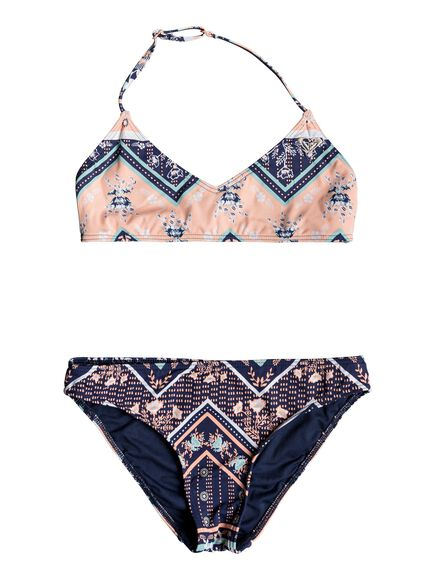 Heart In The Waves - Bikini Triangular Bralette para Chicas 8-16