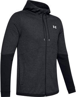 Sudadera con capucha y cremallera completa UA Double Knit para hombre