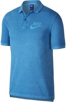 Nike polo pq wash hbr Hombre Azul