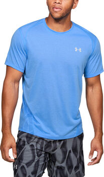 Under Armour Camiseta de manga corta Streaker 2.0 Shift hombre Azul
